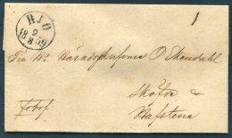 1859 Sweden Hjo Wrapper - Sweden