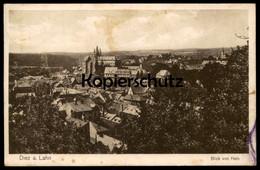 ALTE POSTKARTE DIEZ AN DER LAHN BLICK VON HAIN Freiendiez Ansichtskarte Postcard AK Cpa - Diez