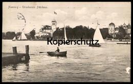 ALTE POSTKARTE HAMBURG UHLENHORSTER FÄHRHAUS UHLENHORST Ansichtskarte Postcard Cpa AK - Mitte
