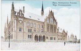 Latvia Germany, Riga, Kommerzschule - Letonia