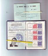 Carte D'identité Maçonnique - Grand Orient - La Parfaite Union - Rennes