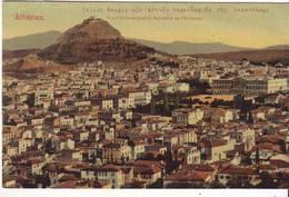 CPA - Vue D' ATHENES Prise Du Bélvédère De L'Acropole - - Griechenland