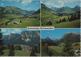 Grimmialp-Schwenden - Mäniggrat-Abendberg, Gsür-Arbenhorn, Schwenden, Kurheim - BE Berne