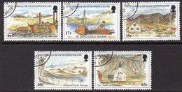 South Georgia 1999 Island Views Set Of 5, Used, SG 283/7 - Falkland Islands
