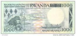 RWANDA P. 21 1000 F 1988 UNC - Rwanda