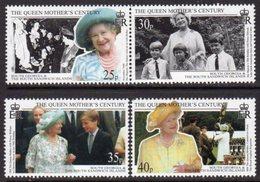 South Georgia 1999 Queen Mother's Century Set Of 4, MNH, SG 289/92 - Falkland Islands