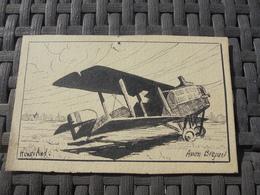 Dessin Avion Breguet  Illutrateur Henry And - ....-1914: Précurseurs