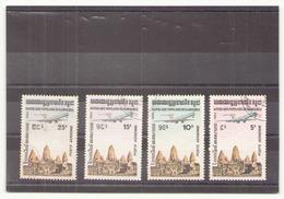 Kampuchea 1984, Poste Aérienne N° 32 / 35 Oblitéré - Kampuchea