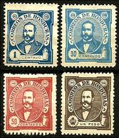 Honduras - 1896 - N° 76, 81, 82 Et 83 Neufs - Honduras