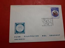 L'Uruguay FDC Un Congrès Mondial Du Mérinos - Ferme