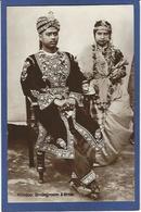 CPA Inde India Britannique Anglaise écrite Type Rajah - India