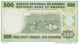 RWANDA P. 34 500 F 2008 UNC - Ruanda