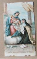 (ST270) SANTINO, SANTINI, SANTA MARIA MADDALENA DE' PAZZI, 1900 - Imágenes Religiosas