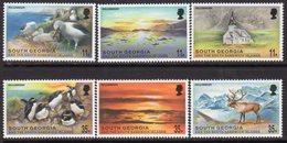 South Georgia 1999 New Millenium Set Of 6, MNH, SG 306/11 - Falkland Islands