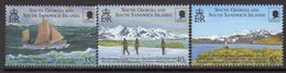 South Georgia 2000 Shackleton's Trans-Antarctic Expedition Set Of 3, MNH, SG 312/4 - Falkland Islands