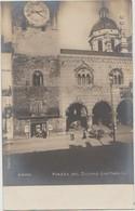 CPA ITALIE ITALIA COMO Piazza Del Duomo (Dettaglio) Real Photo 1904 - Como