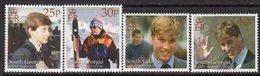 South Georgia 2000 Prince William's 18th Birthday Set Of 4, MNH, SG 315/8 - Falkland Islands