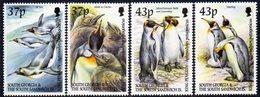 South Georgia 2000 King Penguins Set Of 4, MNH, SG 320/3 - Falkland Islands