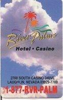 STATI UNITI KEY HOTEL River Palms Hotel-Casino - Laughlin, NV - Hotel Keycards