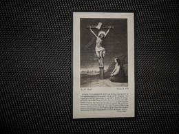 Doodsprentje ( E 667 ) Brutsaert / Vallaeys - Crombeke Krombeke - Langemarck Langemark   -  1933 - Obituary Notices