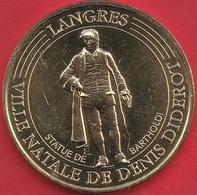 MONNAIE DE PARIS - 52 LANGRES DIDEROT-BARTHOLD 2017 - Monnaie De Paris