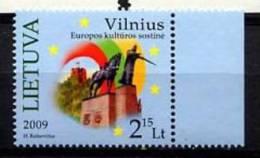 LITUANIE LIETUVA 2009, CULTURE VILNIUS, 1 Valeur, Neuf. R1809 - Litauen