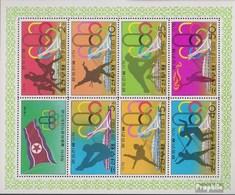 Nord-Korea 1508C-1514C Kleinbogen (kompl.Ausg.) Postfrisch 1976 Olympische Sommerspiele '76 - Korea, North