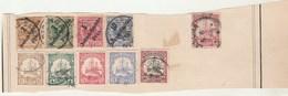 Afrique Orientale Allemande Lot Collection 1 Partie De Page De Timbres Anciens  - Tous états Non Triés - Colonie: Afrique Orientale