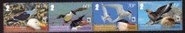 South Georgia 2012 Endangered Species, Seabirds Strip Of 4, MNH, SG 556/9 - Falkland Islands