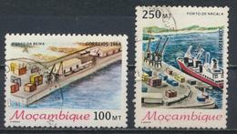 °°° MOZAMBIQUE MOZAMBICO - Y&T N°1104/5 - 1988 °°° - Mozambico