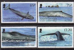 South Georgia 2012 Blue Whales Set Of 4, MNH, SG 566/9 - Falkland Islands
