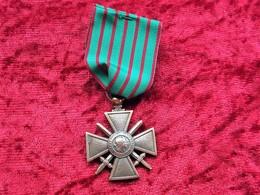 Croix De Guerre Francia 1914-1918 - 1914-18