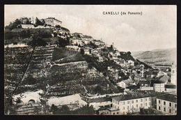 CANELLI: Bel éclairage Et Bon Plan Sur Les Maisons. Carte Obliterée En 1909. Superbe - Asti