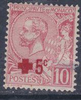 Monaco N° 26 X  : Au Profit De Lla Croix-Rouge  Trace De Charnière Sinon TB - Monaco