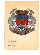 ARMOIRIES DE BORDEAUX - Cartoline