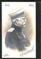 AK Otto Von Bismarck In Uniform - Personnages Historiques