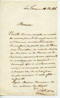 OFFICIER MILITAIRE ET INVENTEUR FUSIL HENRI-GUSTAVE DELVIGNE (HAMBOURG 1800-TOULON 1876) LAS 1856 APPAREILS DE SAUVETAGE - Documents