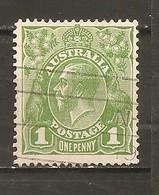 Australia Nº Yvert  51 (A) (usado) (o) - 1913-36 George V : Heads