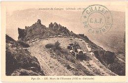 FR66 LE CANIGOU - 120 - Ascension Du Canigou - Mort De L'homme 1150m D'altitude - Voiture - Animée - Belle - Autres Communes
