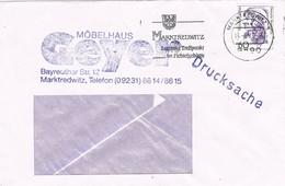 30205. Carta MARKTREDWITZ (Alemania Federal) 1989. Drucksache, Impresos - [7] República Federal