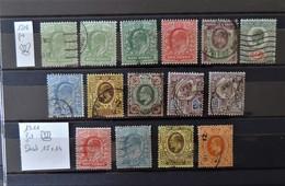 GB - 1902 And 1911  Lot De Edward VII  - Value : 145 Euros - 1902-1951 (Kings)