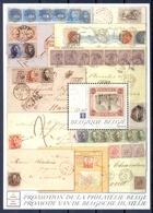 BELGIE    (WEU 396) - Postzegels Op Postzegels