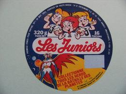 Etiquette Fromage Fondu - Les Juniors -16 Portions Entremont 74 R Pub Héros Bataille Des Planètes - Hte-Savoie  A Voir ! - Cheese