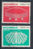 °°° MOZAMBIQUE MOZAMBICO - Y&T N°1141/44 - 1989 °°° - Mozambico