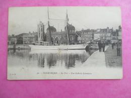 CPA 59 DUNKERQUE LE PORT UNE GOELETTE ISLANDAISE - Dunkerque