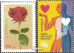 Australien 2917,2927 (kompl.Ausg.) Postfrisch 2008 Gruß, Organspende - 2000-09 Elizabeth II