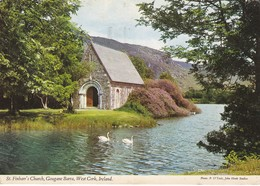 Postcard St Finbarr's Church Gougane Barra West Cork Ireland  My Ref  B23160 - Cork