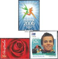 Australien 2508A,2520,2526 (kompl.Ausg.) Postfrisch 2006 Commonwealth, Valentinstag, Olympia - Mint Stamps