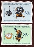 Australian Antarctic Territory AAT 1984 Magnetic Pole Exploration MNH - Australian Antarctic Territory (AAT)