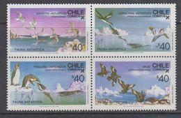 Chile 1986  Antarctica / Animals 4v  ** Mnh (40972D) - Stamps